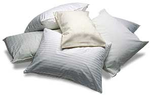 Pillows below wholesale prices, Cannon, West Point Stevens, Down, Anti-Bacterial Fresh Night,Dupont Green Label,